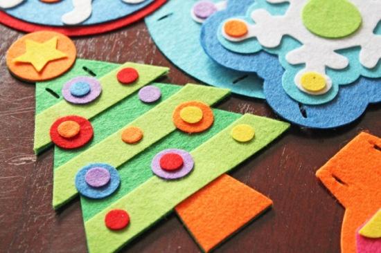 Homemade Christmas Decorations #crafts