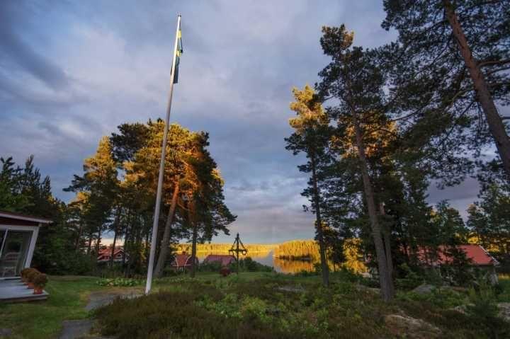 A Ljusterö Midsummer — at Sillviken, Ljusterö, Sweden