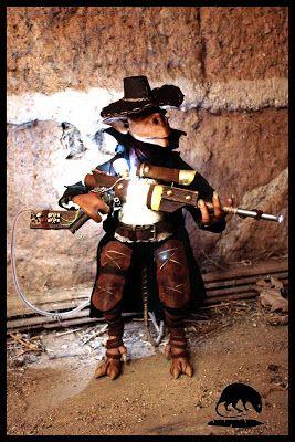 le rat à la plume: Wellyd le chasseur d'ombres ( steampunk )