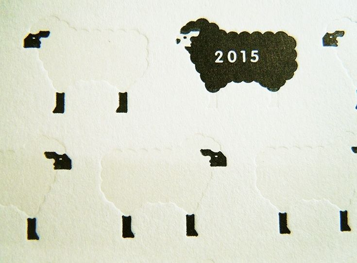 デザインから選ぶ・活版年賀状 , 活版名刺ドットコム