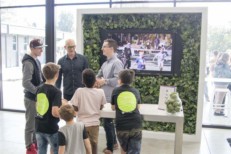 #FocusProductionsPtyLtd custom TV hire display for #LifeChurch #Greenwall