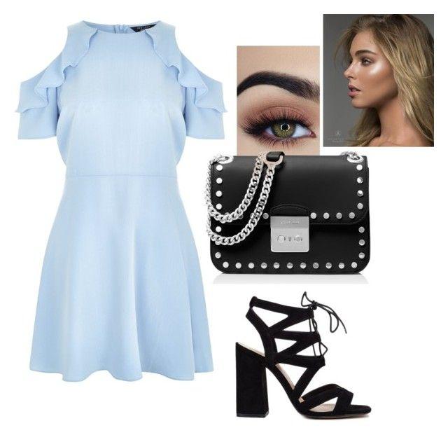 """🔵 Blue ⚫️ Black 🔵⚫️B$B"" by oliwiajankowska on Polyvore featuring moda, New Look i MICHAEL Michael Kors"