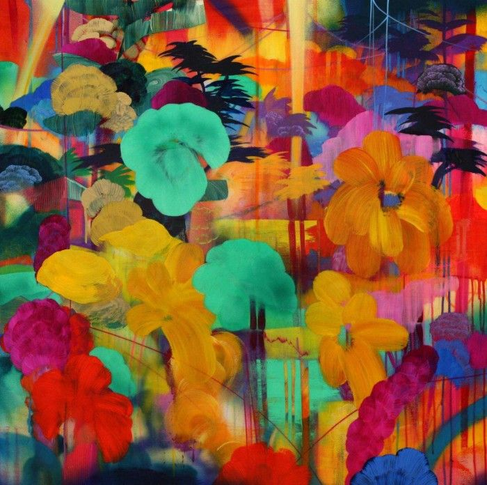 Orlanda Broom - Lush Tropics | Patternbank