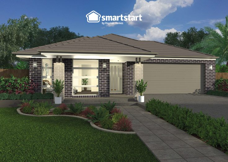 Multi Gen Living One with Maya B Facade   The Maya B isn't a maybe when it comes to choosing facades - it's a yes!  #firsthomebuyer #smartstart #smartstarthomes #streetappeal #streetappealideas #streetappealaustralia #streetappealaustraliafrontyards #streetstyle #facadehousesinglestorey