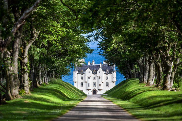 Dunbeath Castle in Schotland, romantische bestemming voor de huwelijksreis