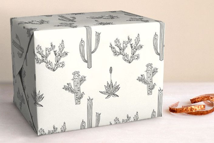 Texas Flora Wrapping Paper by R Studio, Minted