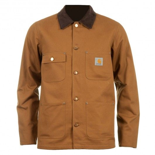 CARHARTT Chore Coat Jacket hamilton brown rigid blouson homme 169,00€ #carhartt #carharttwip #workinprogress #jacket #blouson #doudoune #jackets #men #skate #skateboard #skateboarding #streetshop #skateshop @playskateshop