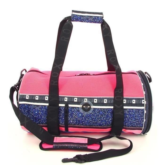 Ce sac de sport Roxy vous suivra dans toutes vos séances. Son volume idéal et sa forme ergonomique en fera votre allié indispensable!Son compartiment principal zippé offre un espace volumineux qui vous permettra de ranger tout ce dont vous avez besoin. À l'extérieur, on retrouve sur le côté une fer