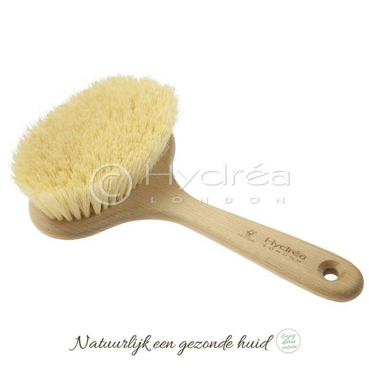 Hydrea London Professionele Dry Skin Brush met cactusharen