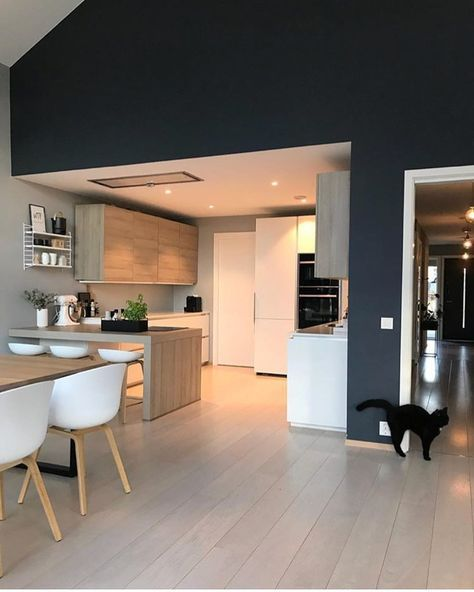 45 best Kitchen images on Pinterest Kitchen ideas, Kitchen modern - hotte integree dans meuble haut