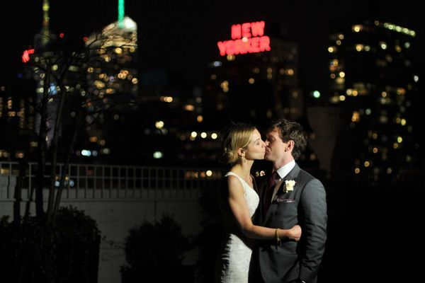 "There's something about a classic NYC wedding that is just magical. The bride herself says: ""Our goal was to have a big party.. and what other location is better for a big party than New York City?"" We couldn't agree more.."