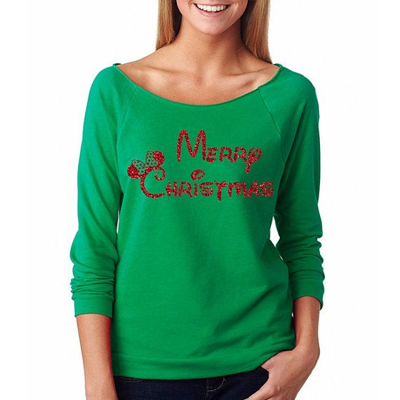 "Mickey's Very Merry Christmas Party Shirt // ""Minnie Merry Christmas"" // Christmas // Mickey Christmas Shirts // Disney Christmas Vacation"