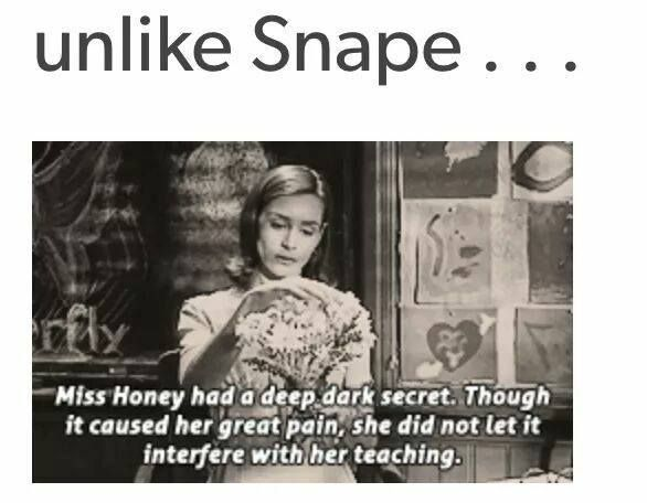 That's because for at least a small part of her childhood she was happy and had good parenting, Snape probably never received any care until Lily which is why he loved her