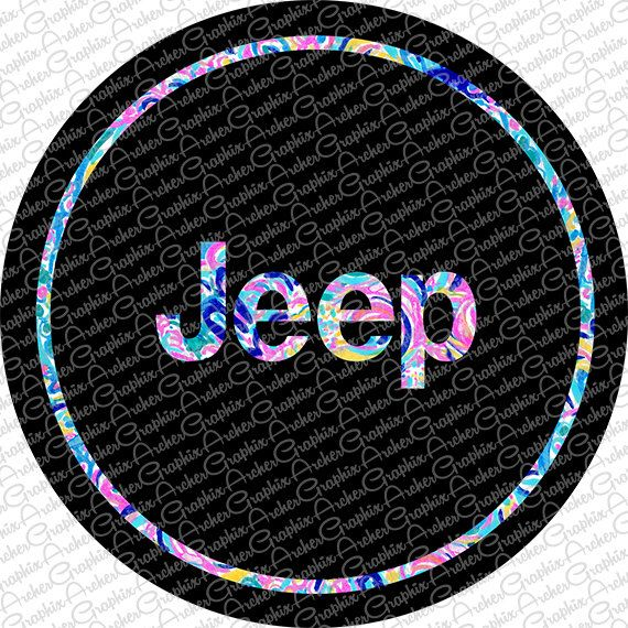 Lilly Pulitzer Inspired Jeep tire cover- CUSTOM MADE for You! by ArcherGraphix on Etsy https://www.etsy.com/listing/498978526/lilly-pulitzer-inspired-jeep-tire-cover