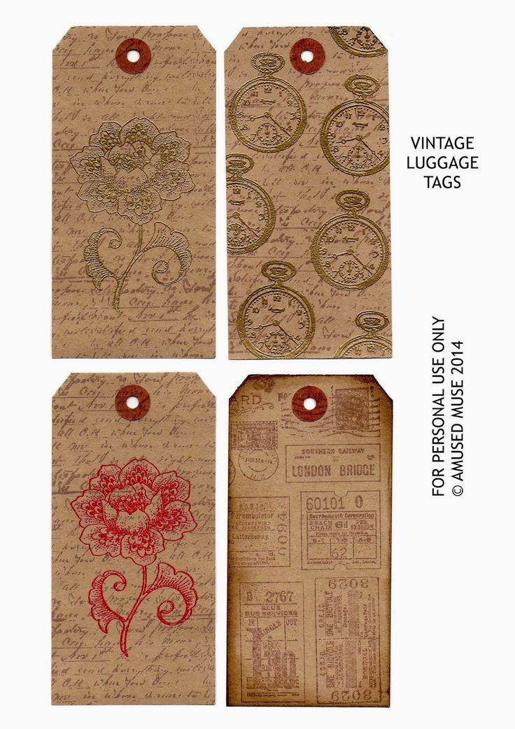 Luggage Labels Vintage 109