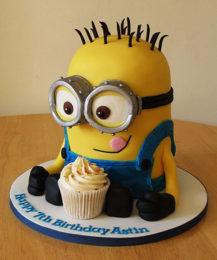 Image result for minion birthday cake