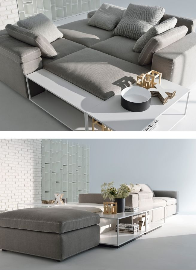 Sectional upholstered fabric #sofa GRAF by MDF Italia   #design Victor Vasilev