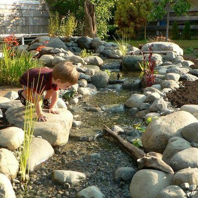 107 besten wasser im garten Bilder auf Pinterest Landschaftsbau - bachlauf im garten anleitung