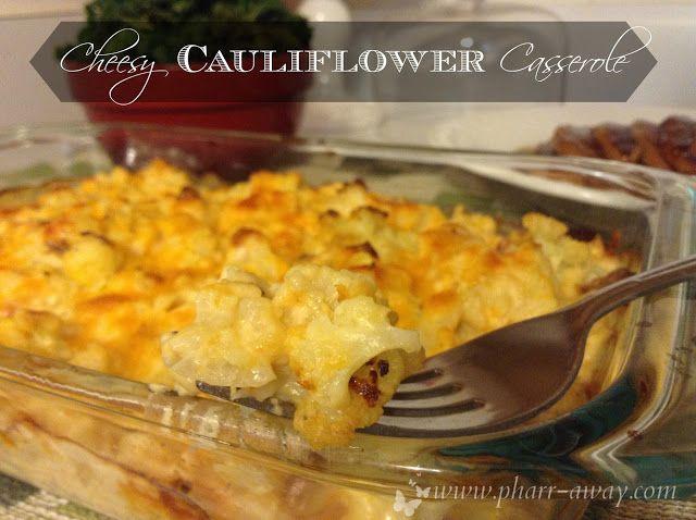 Cheesy Cavolfiore casseruola