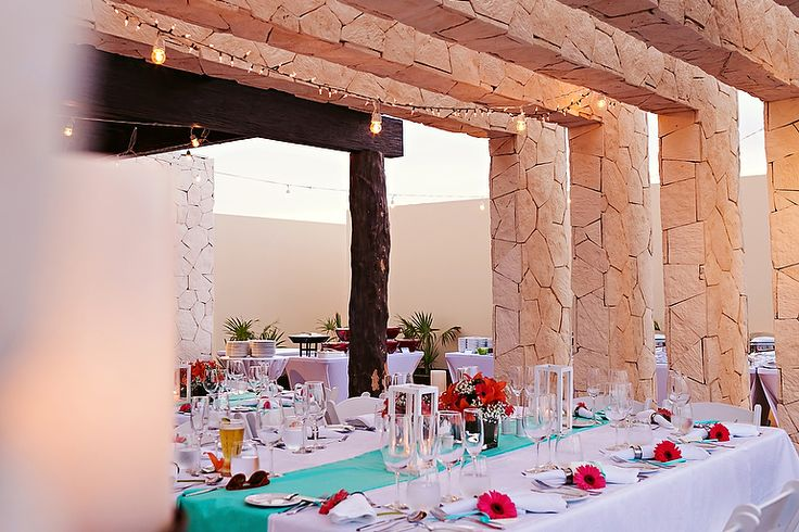 Reception Setup White And Turquoise Beach Themed Destination Weddings Lm Quetzal Photo Royalton Riviera Cancun Hotel Pinterest