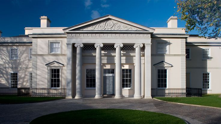 hanover lodge by quinlan and francis terry architects llp