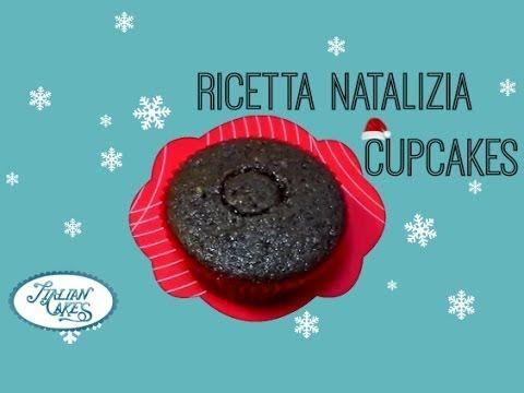▶ Ricetta cupcakes di natale (impasto) by ItalianCakes - YouTube