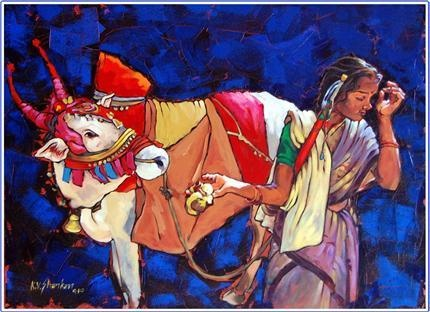 Indian Contemporary Art Another nice painting