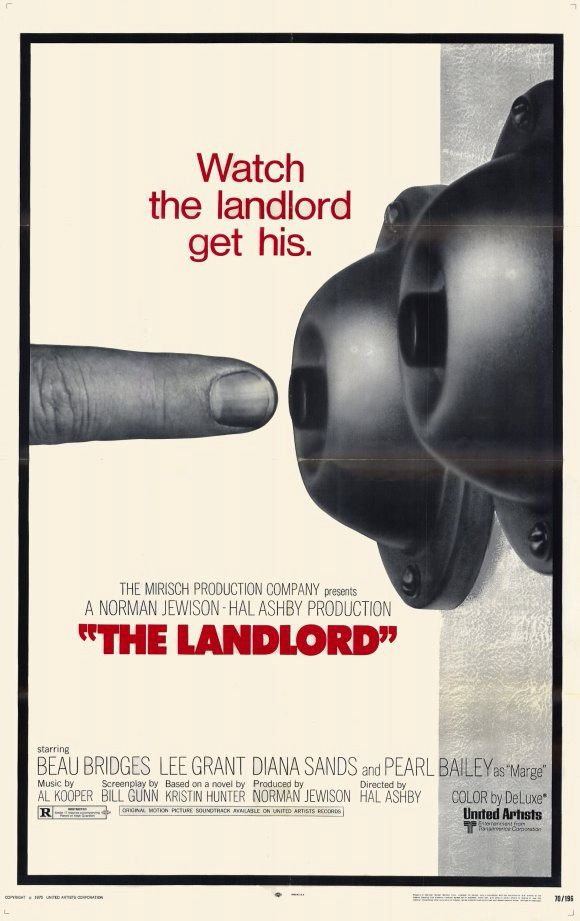 The Landlord (Hal Ashby, 1970) US one sheet design