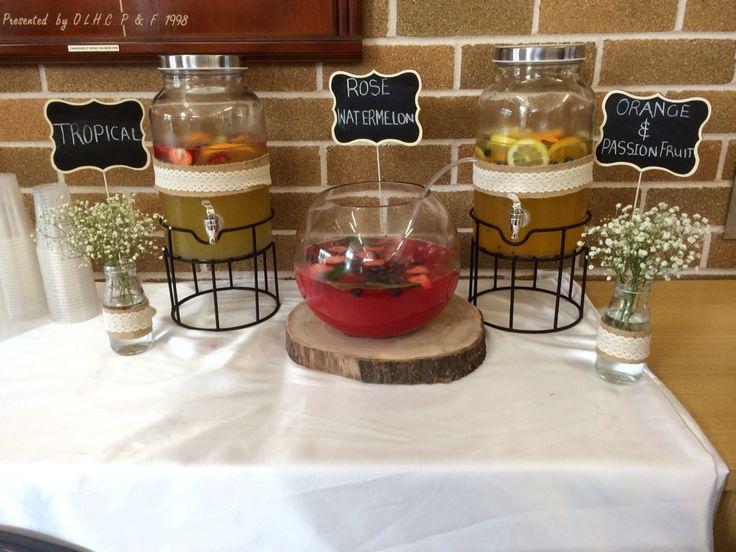Our beverage station
