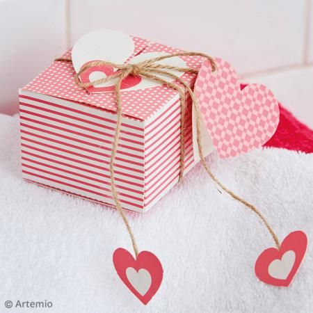 Kit Cajas cuadradas Kiss me para montar - Fotografía n°2