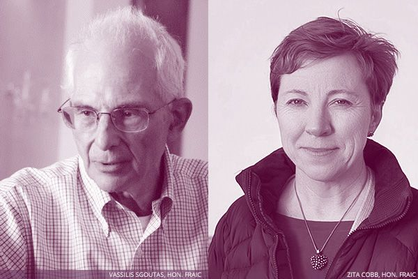 RAIC names 2015 Honourary Fellows: Zita Cobb and Vassilis Sgoutas | RAIC | Architecture Canada