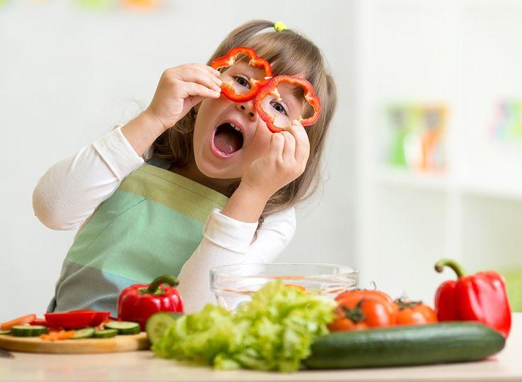 Les légumes bénéfiques... AUSSI pour les enfants! | Raspberry Ketone