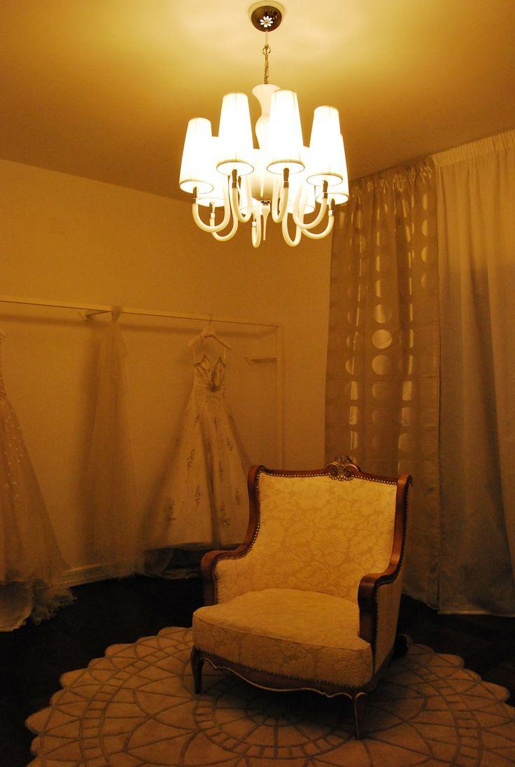 Dressing room. La sala prove