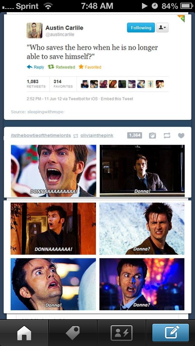 DONNA NOBLE! (The fact that the above tweet was made by Austin Carlile makes this even better)