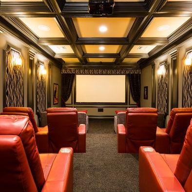 113 best InteriorsTheater Room Ideas images on Pinterest Home
