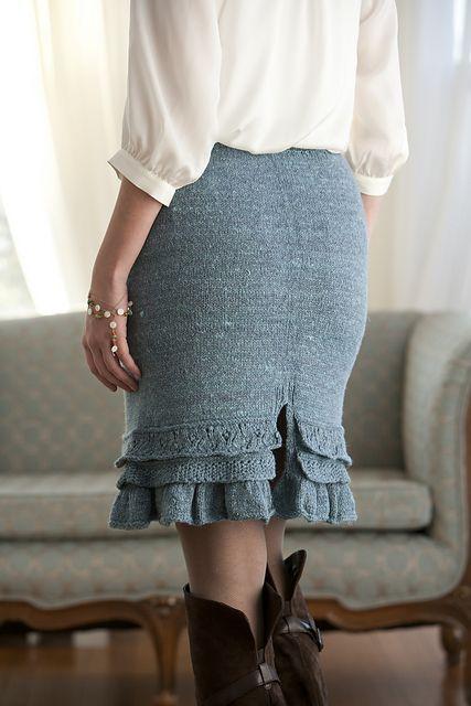 Ravelry: Barton Springs Skirt pattern by Cecily Glowik MacDonald
