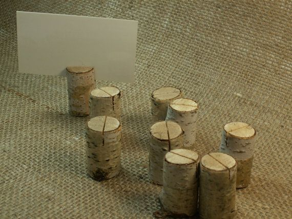 Birch Bark Rustic Table Number, Wedding Table Numbers, Holiday Dinner Rustic Christmas decor