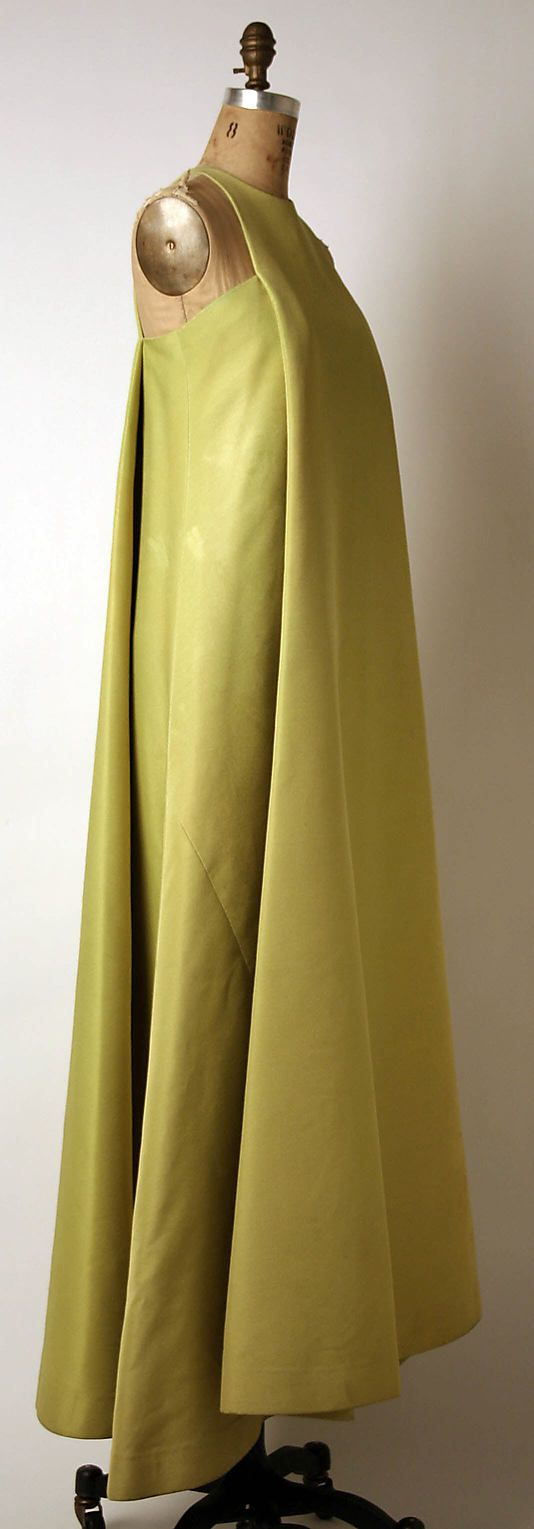 Dress, Evening  Madame Grès (Alix Barton) (French, Paris 1903–1993 Var region)