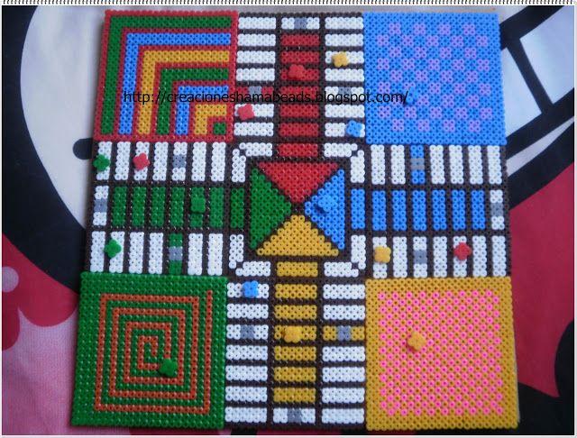 Parchis by Creaciones Hama Beads