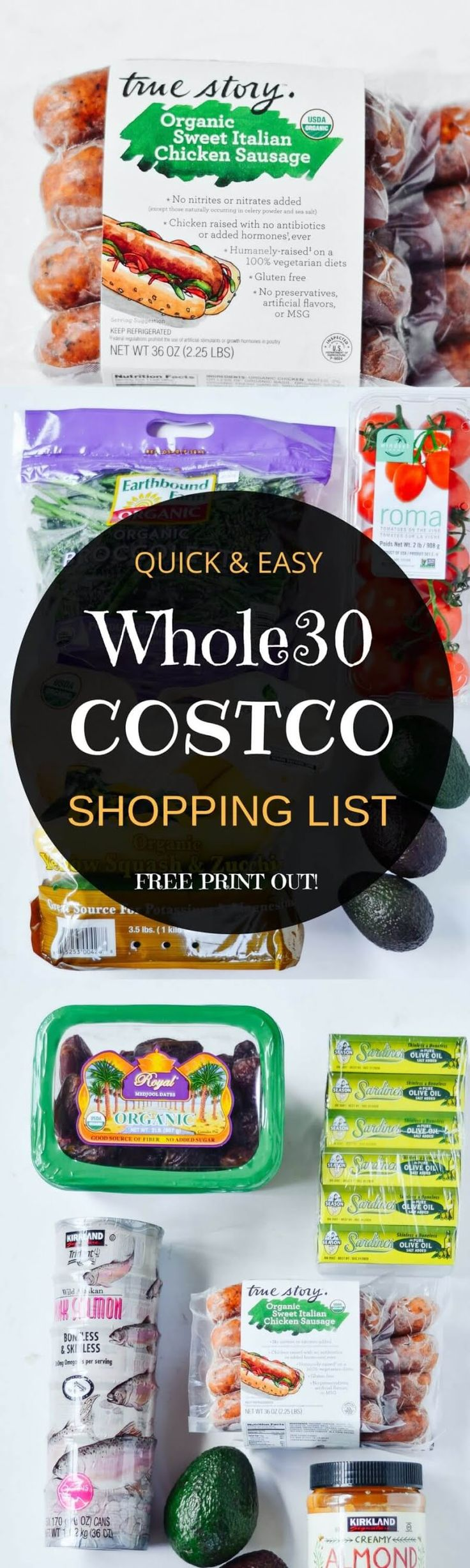 Best Whole30 and paleo shopping list!! Complete with how to read the labels guide and checkboxes for all your whole30 needs! Shop with ease! Eat like a whole30 king! Free shopping list & shopping guide printout! Whole30 shopping list. Whole30 Costco shopp http://www.skinnymefat.com/paleo-diet/