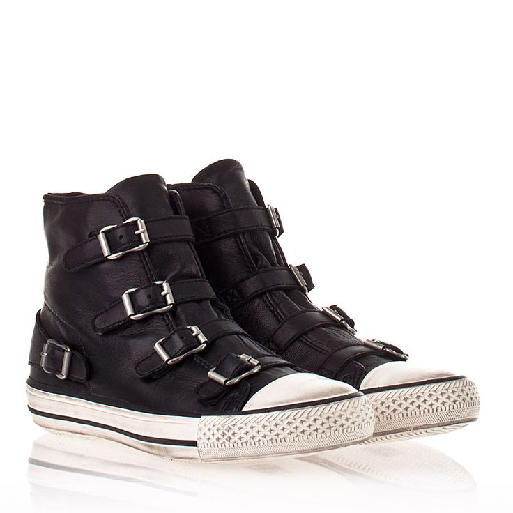 Ash Virgin Sneaker Black Nappa Leather 330053 (001) omg I NEED these lol