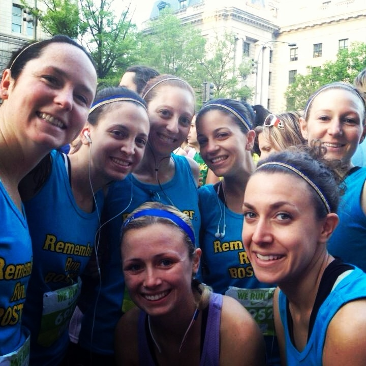 Go Team! Nike's Women Half Marathon @SPARKLYSOULINC @Nicole Novembrino Traub