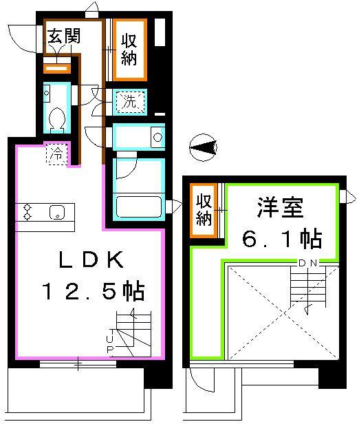 【SUUMO】1LDK/11階/46.61m2/東京都文京区音羽1/護国寺駅の賃貸・部屋探し情報(000020305153) | 賃貸マンション・賃貸アパート