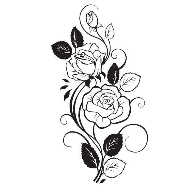 Шаблоны для творчества. Розы.