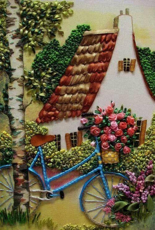 Campestre. Bici en jardin