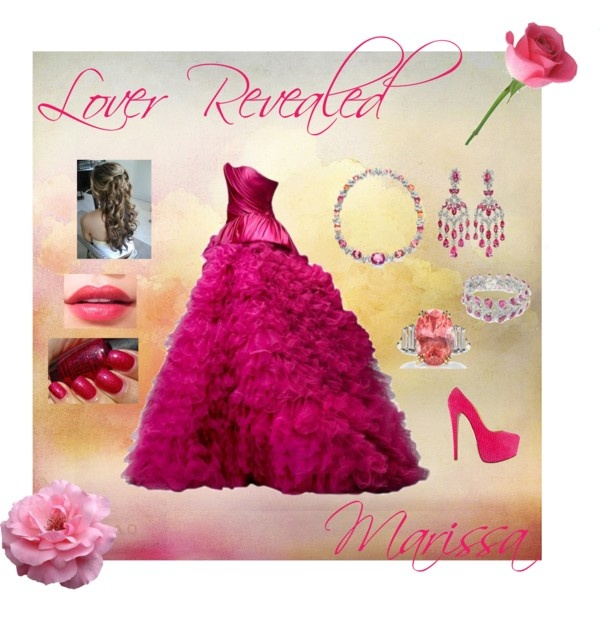 """Lover Revealed - Marissa"" by cantaloopy ❤ liked on Polyvore"
