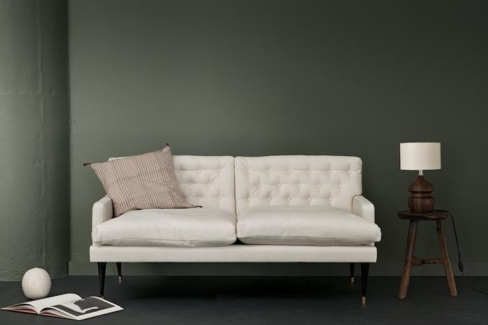 Canvas/Jason Wu Loveseat. Cream linen.: Wall Colors, Wall Colour, Decor Ideas, Sofas Ideas