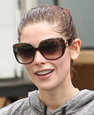 Ashley Greene wearing Gucci sunglasses