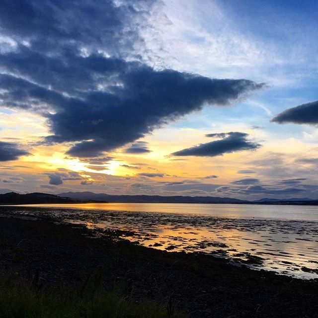 One of the lovely #sunsets in #inverness this week. I had a fabulous time at #stsinverness and I'm full of inspiration to improve my digital and social work. Thanks to @iambassadornet for organising another great event! #omgb #scotland @visitinvernesslochness