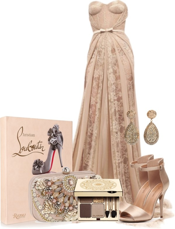 Nude Lace Nude Polyvore And Gemstone